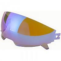 [해외]MT HELMETS District/Streetfighter SV Sun Protector 9137452429 Iridium