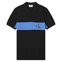 [해외]캘빈클라인 JEANS Color Block Logo Ck Black
