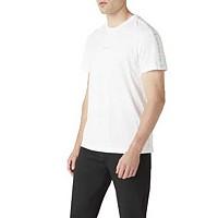 [해외]캘빈클라인 JEANS Logo Jacquard Shoulder Bright White