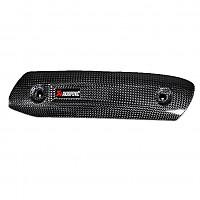 [해외]아크라포빅 머플러 Heat Shield Carbon Scrambler Cafe Racer 19 Ref: P-HSD12E3 9137766380 Black