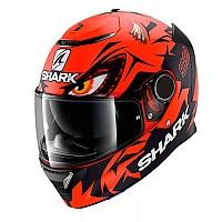 [해외]샤크 스파르탄 Replica Lorenzo GP 9137807369 Matte Red / Black / Red