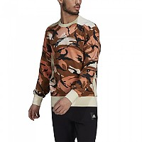 [해외]아디다스 Sportswear Z.N.E. Graphic Wild Brown / Cream White / Hazy Copper