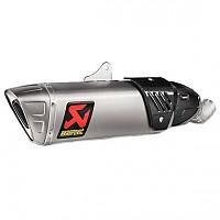 [해외]아크라포빅 머플러 Slip On Line Titanium CBR 1000 RR 17-19 Ref: S-H10SO17-HAPXLT-1 9137952871 Silver