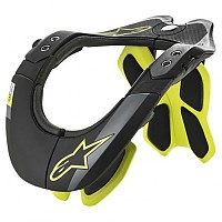 [해외]알파인스타 BNS Tech 2 9136867741 Black Yellow Fluo