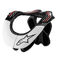 [해외]알파인스타 BNS Pro Neck Support 996655 Black / White / Red