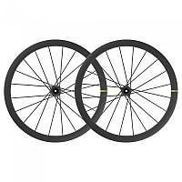 [해외]마빅 Cosmic Ultimate Carbon CL Disc Tubular Wheel Set 1137878039 Black