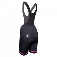 [해외]에띠엔도 Koma Bib Shorts 1135955593 Black / Pink