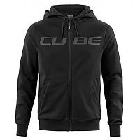 [해외]CUBE Logo Full Zip Sweatshirt 1138325071 Black
