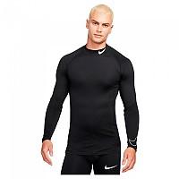 [해외]나이키 Pro Dri Fit Long Sleeve T-Shirt 3138345898 Black / White