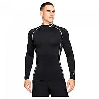 [해외]나이키 Pro Dri Fit Long Sleeve T-Shirt 3138345899 Black / White / White