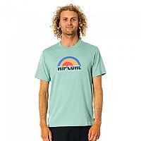 [해외]립컬 Surf Revival Decal Short Sleeve T-Shirt Green Cream