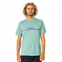 [해외]립컬 Surf Revival Short Sleeve T-Shirt Green Cream