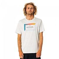 [해외]립컬 Tropic World Short Sleeve T-Shirt Bone Marle