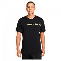 [해외]나이키 Sportswear Repeat Short Sleeve T-Shirt Black / Metallic Gold