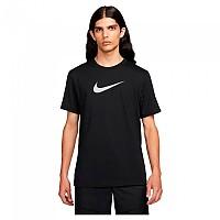 [해외]나이키 Sportswear Repeat Silver Short Sleeve T-Shirt Black / Reflective Silver