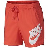 [해외]나이키 Sportswear Flow Hybrid Woven Shorts Rush Coral / Black