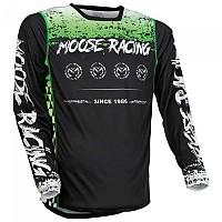 [해외]MOOSE SOFT-GOODS M1 F21 Long Sleeve Jersey 9138175231 Green / Black