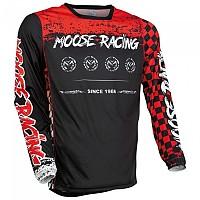 [해외]MOOSE SOFT-GOODS M1 F21 Long Sleeve Jersey 9138175232 Red / Black