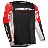 [해외]MOOSE SOFT-GOODS Sahara F21 Long Sleeve Jersey 9138175283 Red / Black