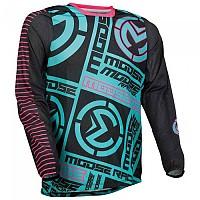 [해외]MOOSE SOFT-GOODS Sahara F21 Long Sleeve Jersey 9138175286 Teal / Pink
