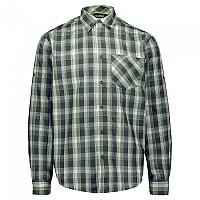 [해외]CMP Long Sleeve Shirt 4138352119 Moss / Jungle