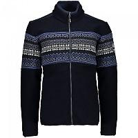 [해외]CMP Sportswear Fleece 4138353525 Black Blue