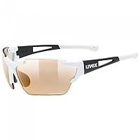 [해외]우벡스 Sportstyle 803 Race Colorvision Variomatic Mirror Sunglasses 1138309921 White / Black Matte
