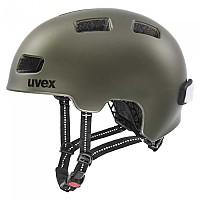 [해외]우벡스 City 4 Helmet 1138309813 Green / Smoke Matte