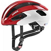 [해외]우벡스 Rise CC Road Helmet 1138309855 Red / White Matte