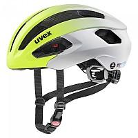 [해외]우벡스 Rise CC Tocsen Road Helmet 1138309857 Neon Yellow / Silver Matte