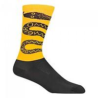 [해외]지로 Comp Racer High Rise Socks 1138247808 Black / Yellow