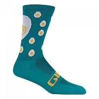 [해외]지로 Comp Racer High Rise Socks 1138247809 Green / White