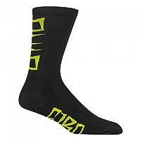 [해외]지로 Seasonel Merino Socks 1138247813 Black / Yellow