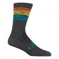 [해외]지로 Seasonel Merino Socks 1138247814 Grey / Orange / Yellow
